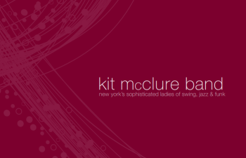 Kit McClure Band Brochure
